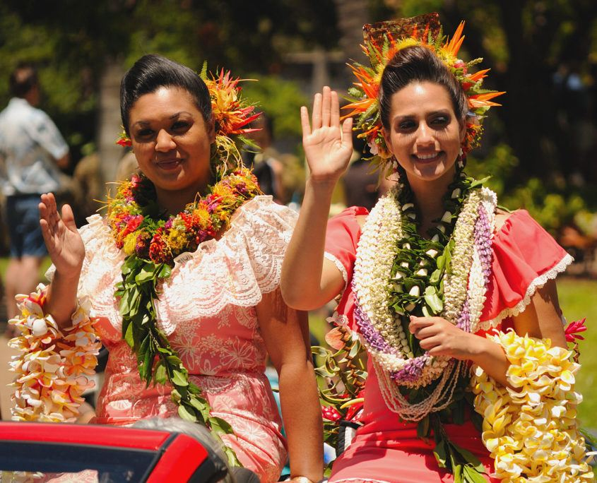 King Kamehameha Parade on Maui
