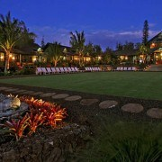 Lumeria Maui lawn evening Supplier Package Hero Image