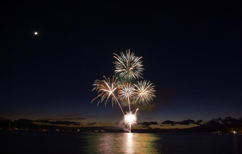 Maui Lahaina Fireworks