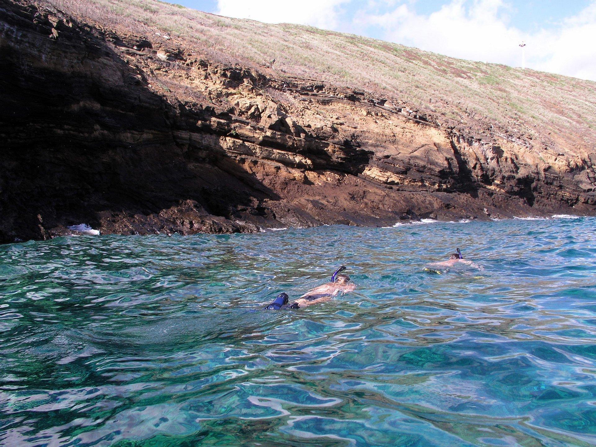 Snorkeling Inside Molokini Crater