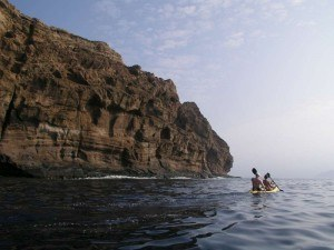 Molokini backwall kayaking