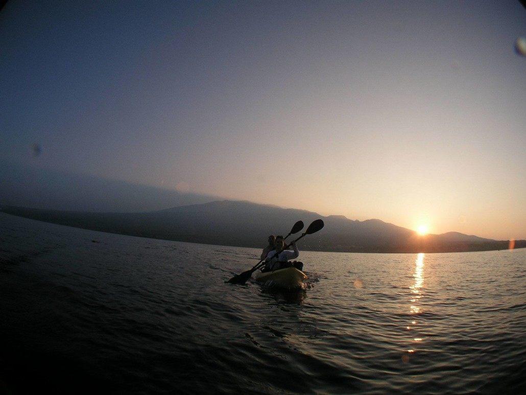 Molokini kayak Sunrise HaleakalaHeadon
