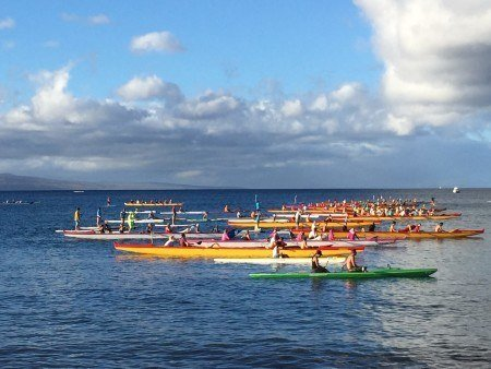 P4H Canoes On Water