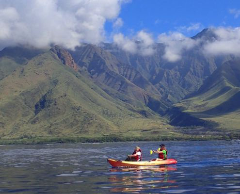 kayaking olowalu andy