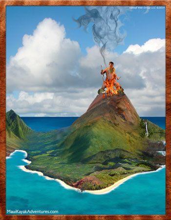 Maui discovers fire