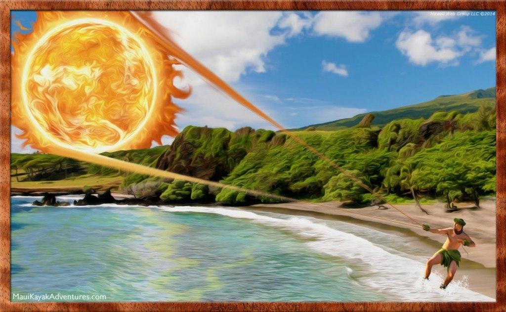 Maui snares the sun