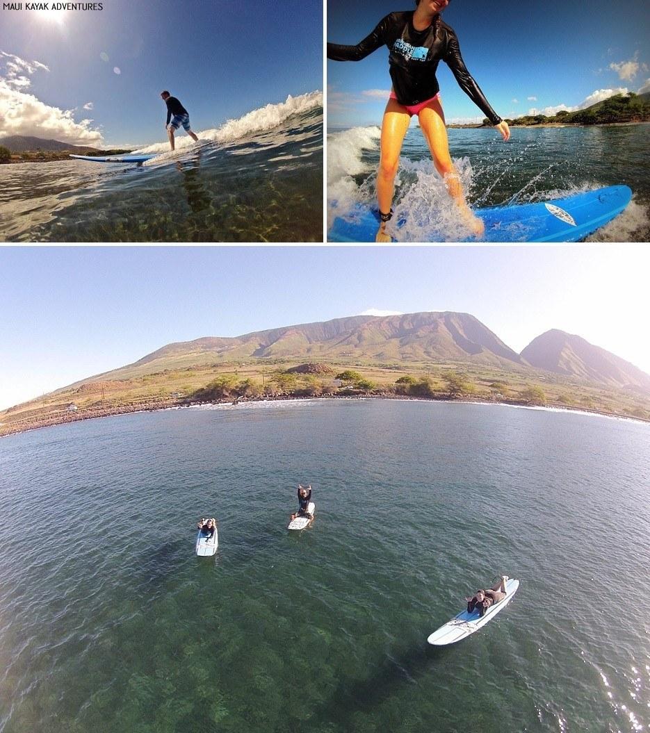 private surf lessons maui