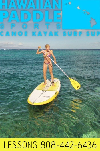 stand up paddling lessons